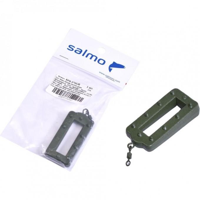 Груз SALMO Frame Swivel green 070г SFS-070GR